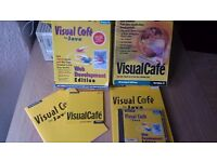 Visual Cafe and Visual Cafe for Java. 2 x web dev software