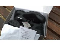 Powerfix / Lidl - Size 10 - Men's Leather Safety Shoes - Brand New unworn and Boxed. Safety boots