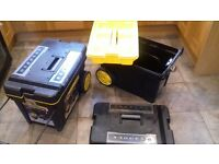 Stanley Pull-a-long Tool Boxes