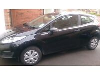 Black ford fiesta studio excellent condition ,one owner from new,full service history.