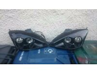 ford focus mk 1 mourette headlights,£80 the pair