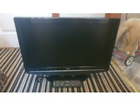 bush 26 inch hd tv+freeview+remote+DELIVERY