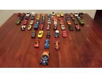 50 Diecast cars