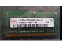 HYNIX 1GB Laptop RAM Memory