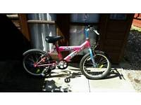 Girls single speed push bike