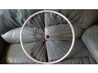 Road bike wheel rear 700 x 18 Weinmann XR18
