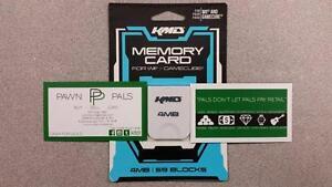 KDM Gamecube/Wii Memory Card