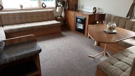 -GREAT DOUBLE GLAZED CENTRAL HEATED CARAVAN-AT SOUTHERNESS,near dumfries ,penrith ,keswick,kippfoed