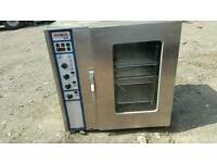 Rational CM101 commercial oven with stand
