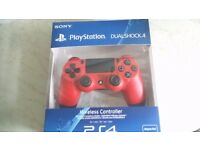 PS4 Sony Official Dualshock Controller - Magma Red £35