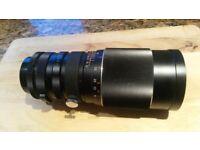 Vivitar auto telephoto lens