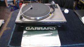 GARRARD GT SERIES RECORD DECK