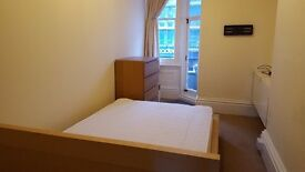 Double Sized Room for Single Occupancy in Furnished Maisonette South of Christchurch Rd, Boscombe