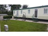 Static caravan double glazed central heating for sale