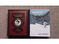 BLANKETS & HABIBI - 2 beautiful hardcover graphic novels by award winning Craig Thompson - CHEAP