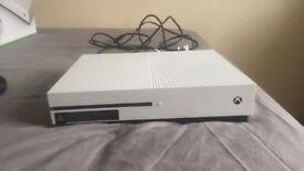 Xbox one s white