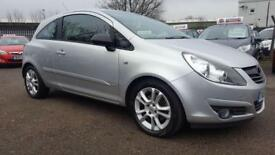 VAUXHALL CORSA 1.3 CDTI SXI 6 SPEED 3 DOOR 2008 / 68K MILES / FULL DEALER SERVICE HISTORY /HPI CLEAR