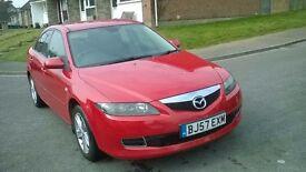 2007 Mazda 6 2.0 Diesel 6 gear 143 PS Cambelt changed, fresh servie