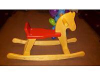 Baby/toddler wooden rocking horse ...BARGAIN