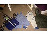 Boys coats and dungarees