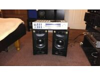 Speakers+Amp/reciver set