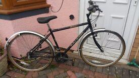 Raliegh 5 gear bicycle hardley used