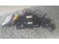 Sega mega drive 3games 2pads open to offers