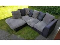 Corner sofa fabric ( free delivery )