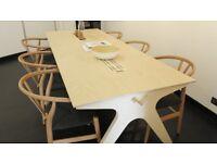 Opendesk CNC Team Desk Scandinavian style Design, office desk, meeting desk
