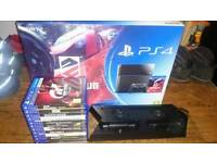 Ps4 500gb boxed with 11 games
