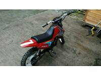 50cc sky team bike