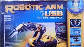 Robotic ARM with USB
