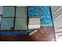 Mosaic Tiles various colours £30 THE LOT!!