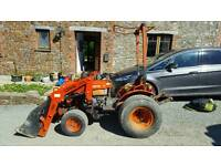 Kubota tractor 7100 with loader