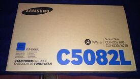 NEW and Sealed Samsung CLP 6220/6250/670/620 CYAN Toner