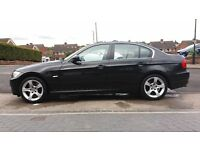2011 Black Bmw 320D Exclusive Edition 4Dr Saloon.