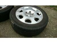"Audi alloy wheels 16"" seat / skoda / vw"