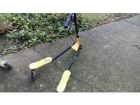 3 wheeled flicker scooter £30,also 2 x 2 wheeled 360 scooters £10 each