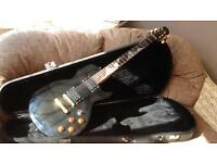 Tanglewood moonscape electric guitar and case NEW LOW PRICE
