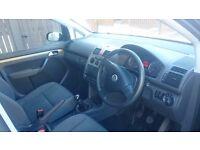 2009 VW Touran 7 seater 1.9 tdi 6speed gearbox fsh
