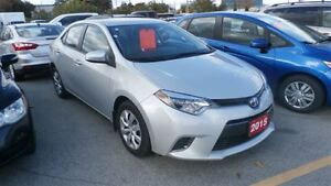 2015 Toyota Corolla LE, Cruise Control, Backup Camera, Bluetooth