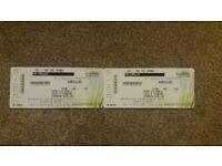 Gorillaz standing tickets, 29th Nov Glasgow