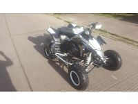 Suzuki ltr 450 2008 road legal black edition