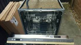 Hotpoint LFT228A integrated dishwasher