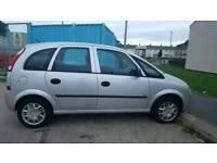 Vauxhall meriva 1.6.