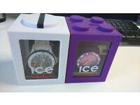 White/Purple ICE Watches