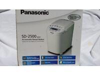 Panasonic SD-2500 WXC Automatic Breadmaker - White New unused in box