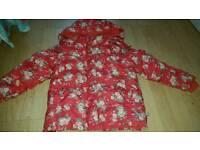 Girls Cath kidston coat size 5-6