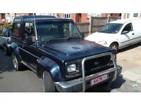 daihatsu fourtrak spares or repair