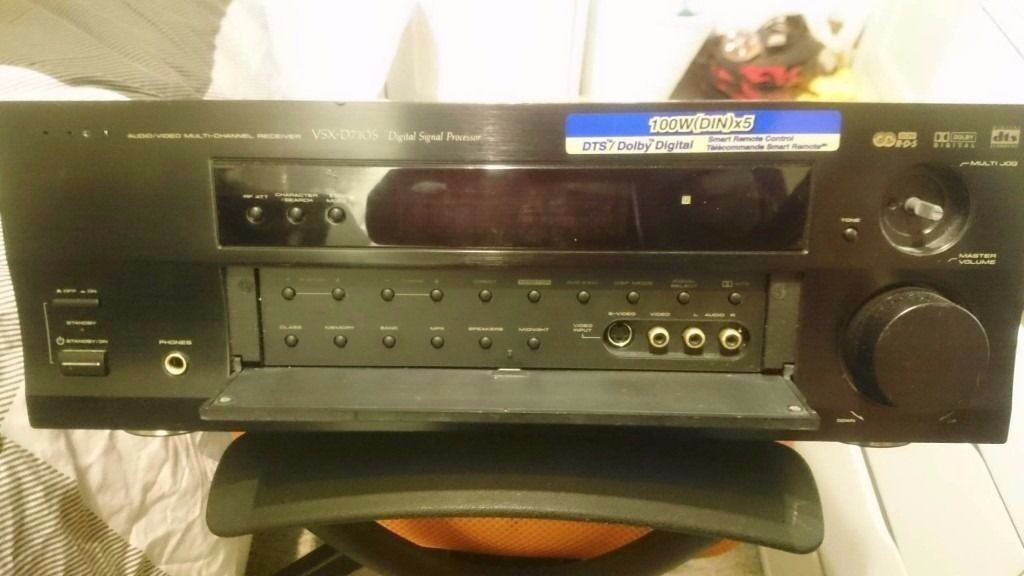 Pioneer vsx d710s working with cosmetic damage av receiver in pioneer vsx d710s working with cosmetic damage av receiver fandeluxe Choice Image